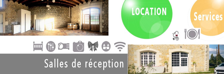 Location de salles reception - Moulis en Médoc